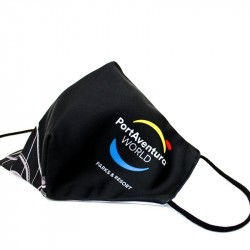 Mascarilla Reutilizable PortAventura® World Negra