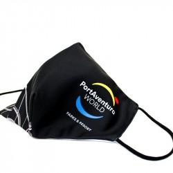PortAventura® World Reusable Black Mask.