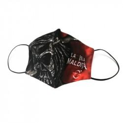 Isla Maldita Reusable Black Mask