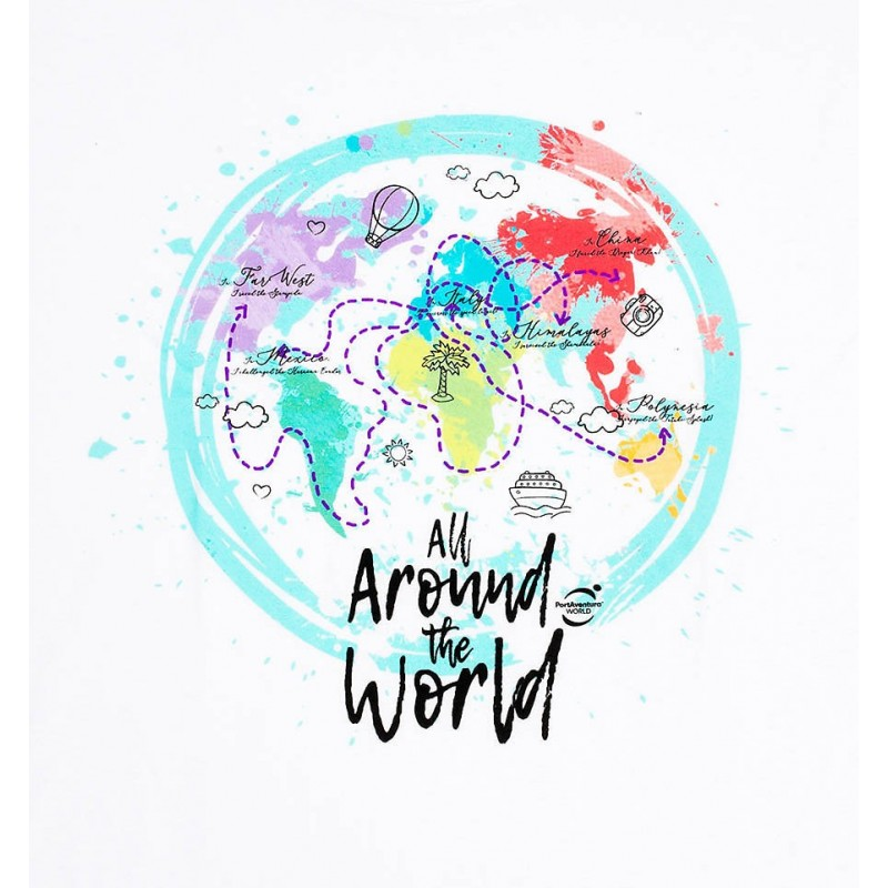 Women's All Around the World T-shirt - PortAventura World® online shop